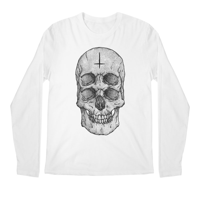 Skull Men's Longsleeve T-Shirt by Deniart's Artist Shop