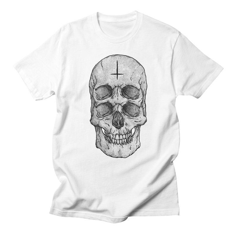 Skull Men's T-shirt by Deniart's Artist Shop