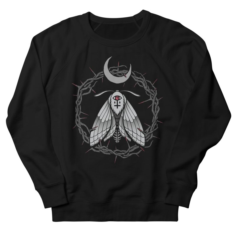 Martyrium Men's French Terry Sweatshirt by Deniart's Artist Shop