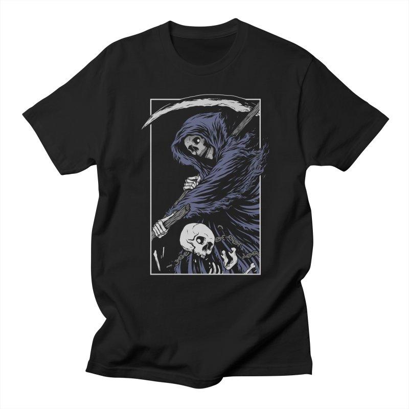 Reaper Women's Regular Unisex T-Shirt by Deniart's Artist Shop