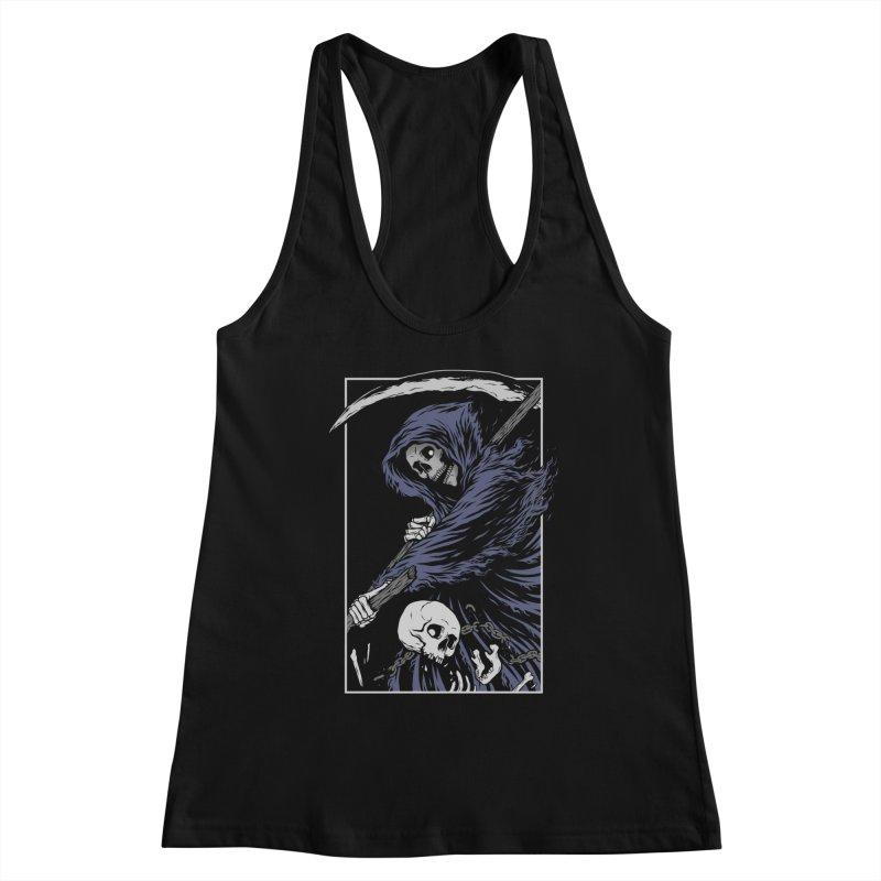 Reaper Women's Racerback Tank by Deniart's Artist Shop