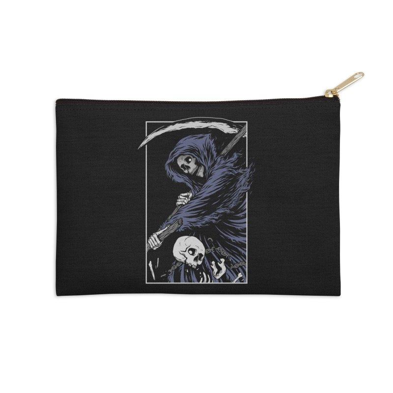 Reaper Accessories Zip Pouch by Deniart's Artist Shop