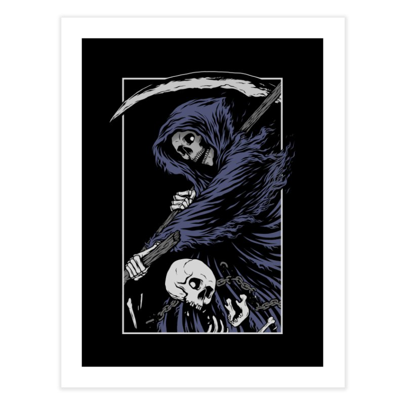 Reaper Home Fine Art Print by Deniart's Artist Shop