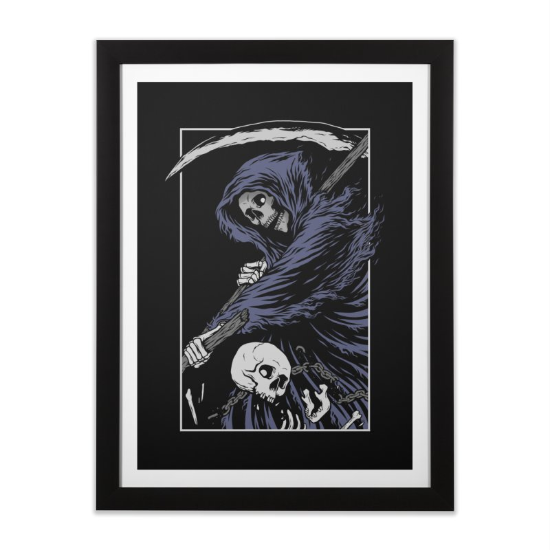 Reaper Home Framed Fine Art Print by Deniart's Artist Shop