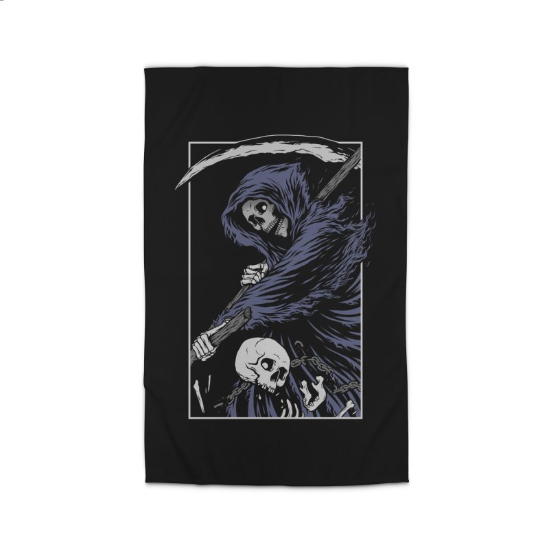 Reaper Home Rug by Deniart's Artist Shop