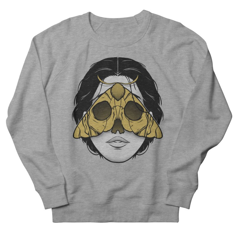 Bad Omen Women's French Terry Sweatshirt by Deniart's Artist Shop