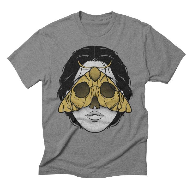 Bad Omen Men's Triblend T-Shirt by Deniart's Artist Shop