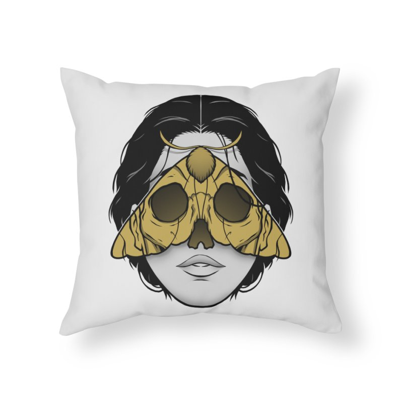 Bad Omen Home Throw Pillow by Deniart's Artist Shop