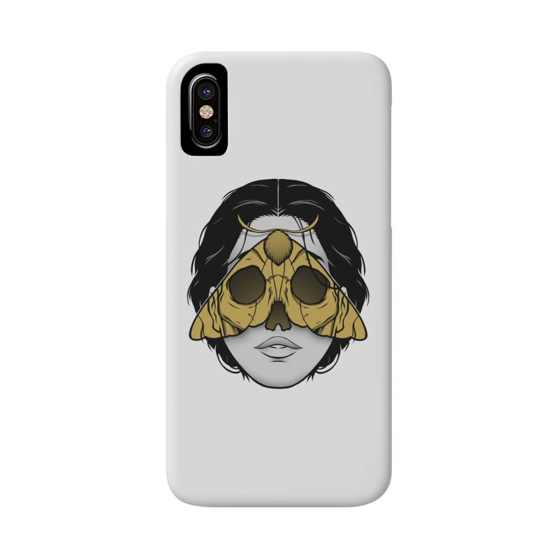 Bad Omen Accessories Phone Case by Deniart's Artist Shop