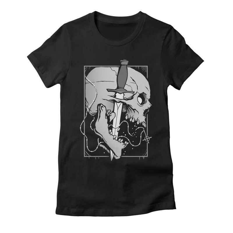 Requiem Women's Fitted T-Shirt by Deniart's Artist Shop