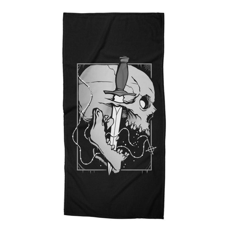 Requiem Accessories Beach Towel by Deniart's Artist Shop