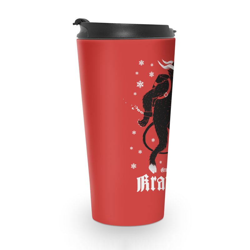 Krampus Accessories Travel Mug by Deniart's Artist Shop