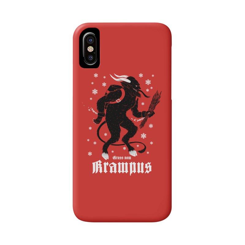 Krampus Accessories Phone Case by Deniart's Artist Shop