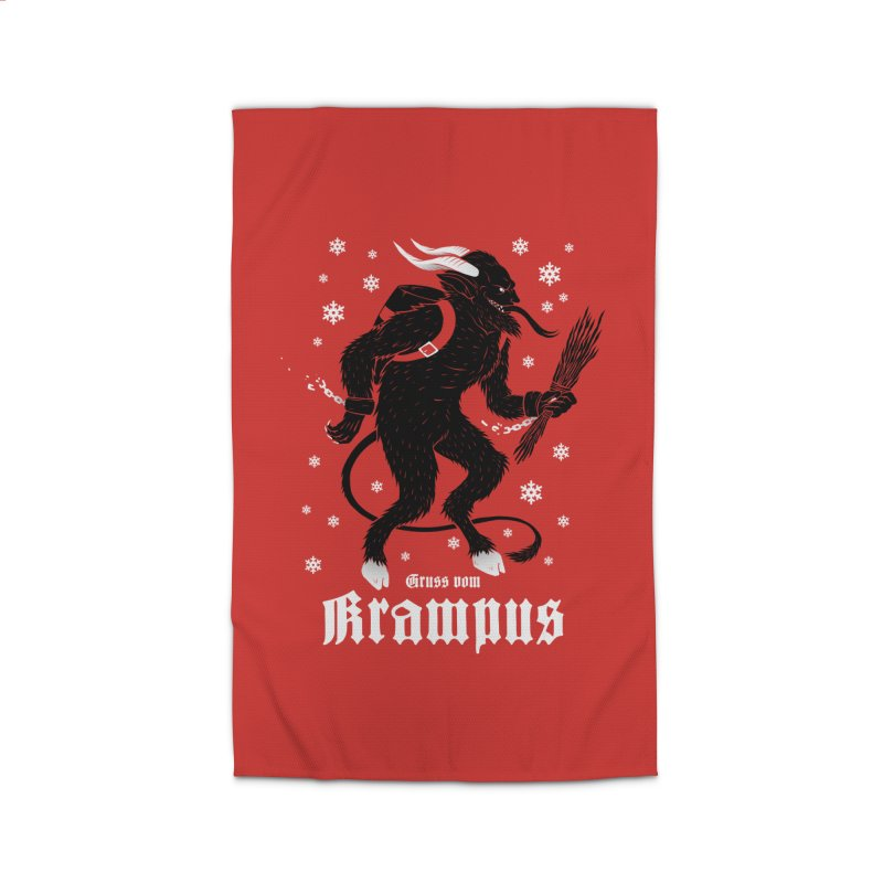 Krampus Home Rug by Deniart's Artist Shop