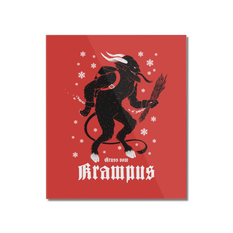 Krampus Home Mounted Acrylic Print by Deniart's Artist Shop