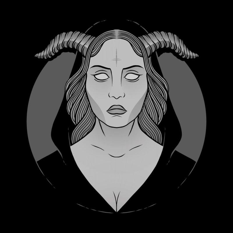 Occult Girl Women's Sweatshirt by Deniart's Artist Shop