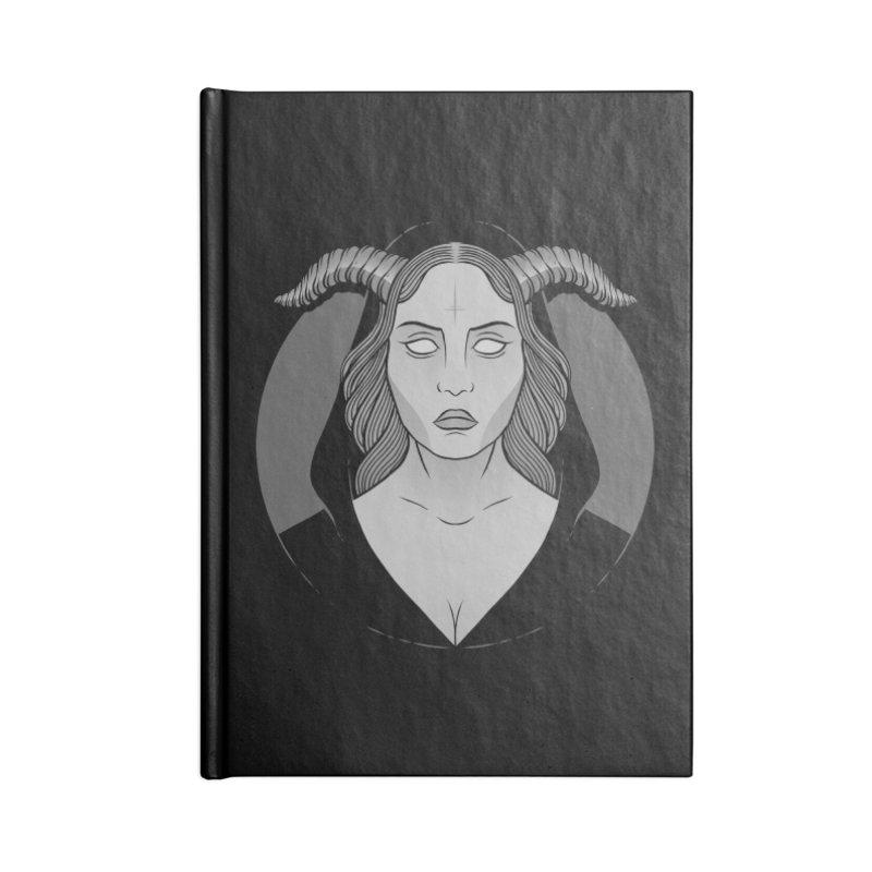 Occult Girl Accessories Notebook by Deniart's Artist Shop