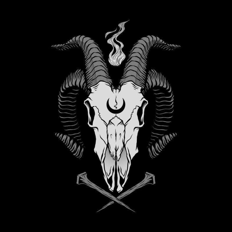 Occult Goat Skull by Deniart's Artist Shop