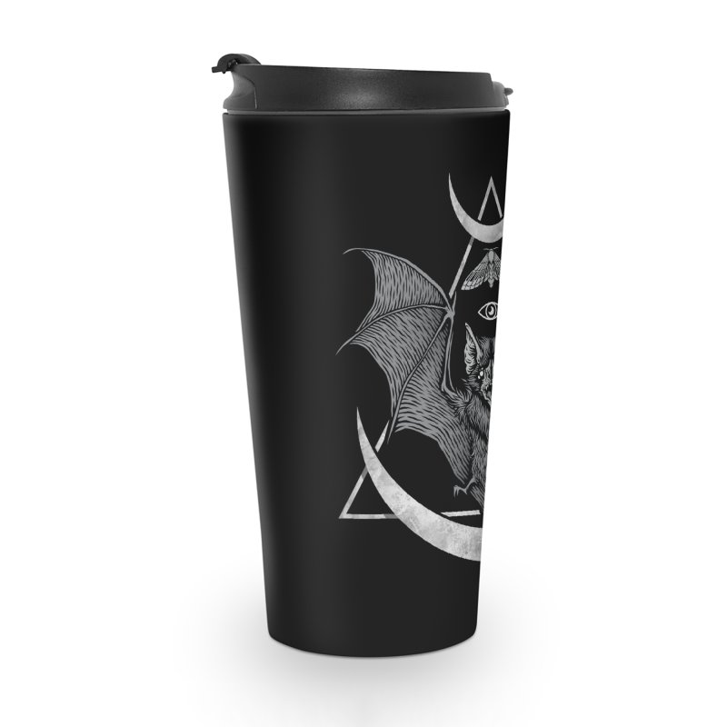 Occult Bat Accessories Travel Mug by Deniart's Artist Shop