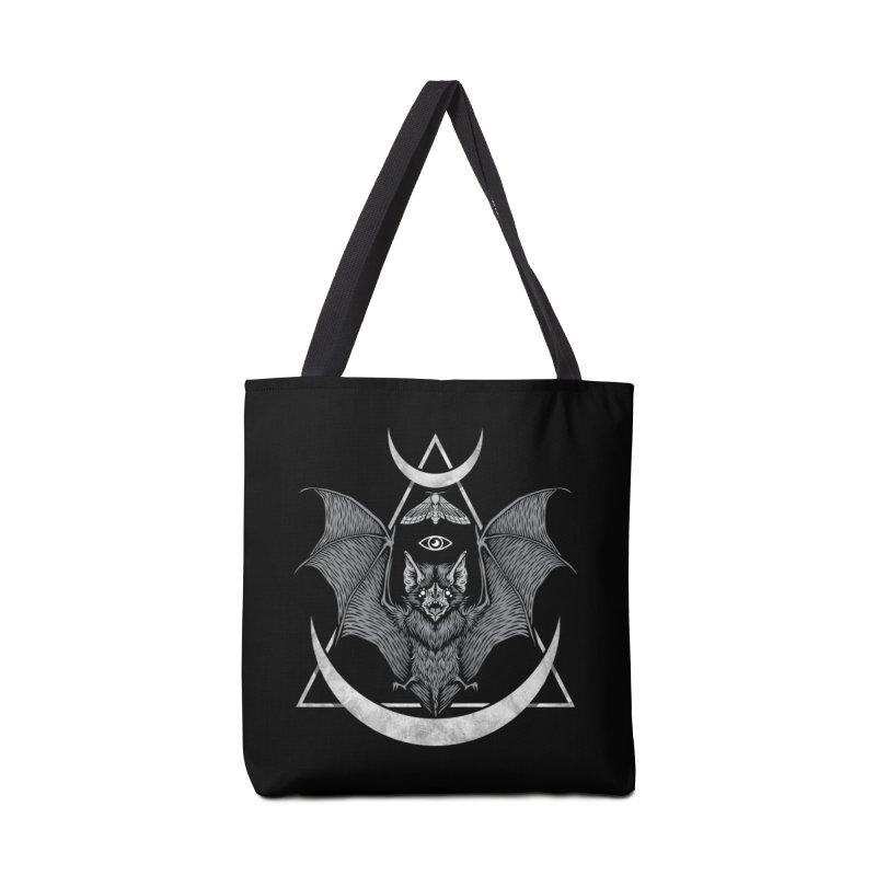 Occult Bat Accessories Tote Bag Bag by Deniart's Artist Shop