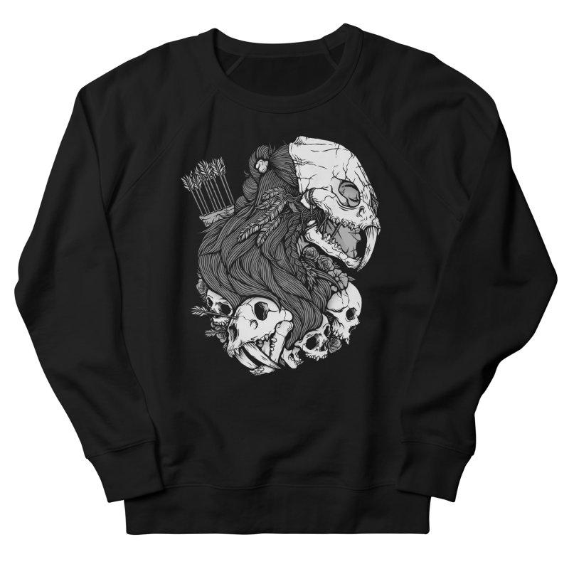 Prehistoric Girl Women's Sweatshirt by Deniart's Artist Shop