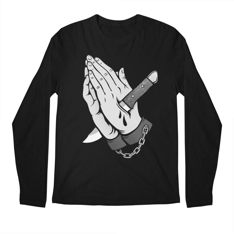 Pray for Mercy Men's Regular Longsleeve T-Shirt by Deniart's Artist Shop