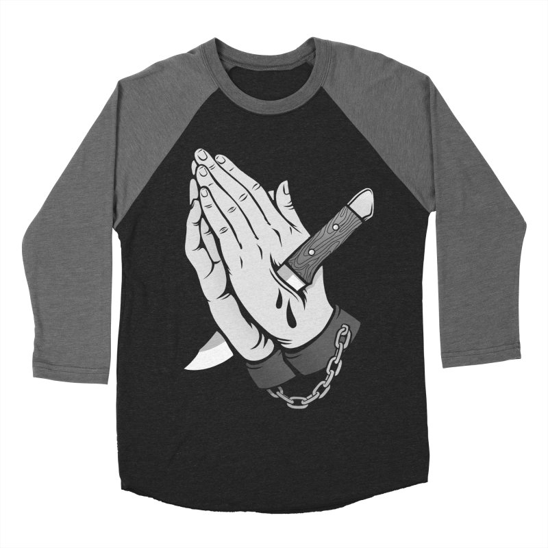 Pray for Mercy Women's Baseball Triblend Longsleeve T-Shirt by Deniart's Artist Shop