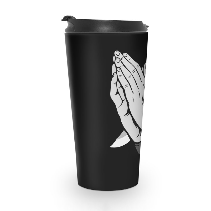 Pray for Mercy Accessories Travel Mug by Deniart's Artist Shop