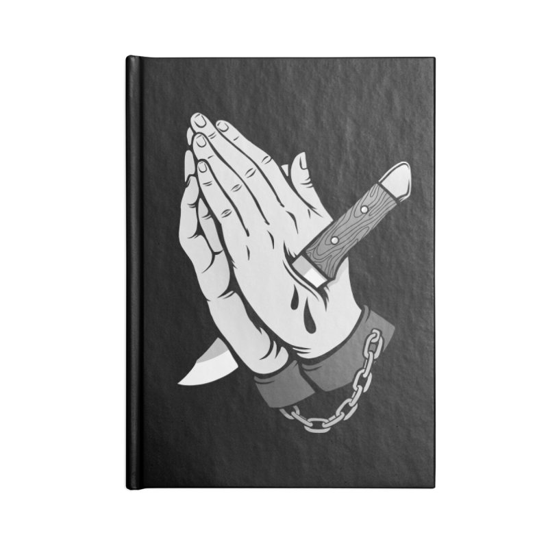 Pray for Mercy Accessories Blank Journal Notebook by Deniart's Artist Shop