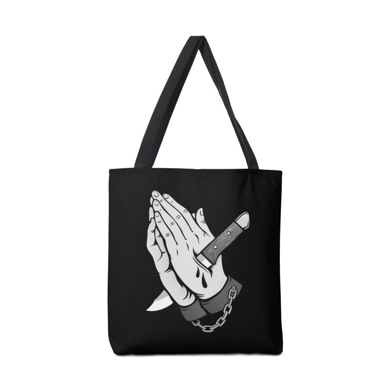 Pray for Mercy Accessories Tote Bag Bag by Deniart's Artist Shop