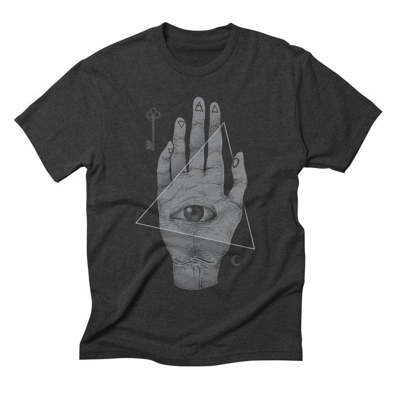 Witch Hand Men's Triblend T-shirt by Deniart's Artist Shop