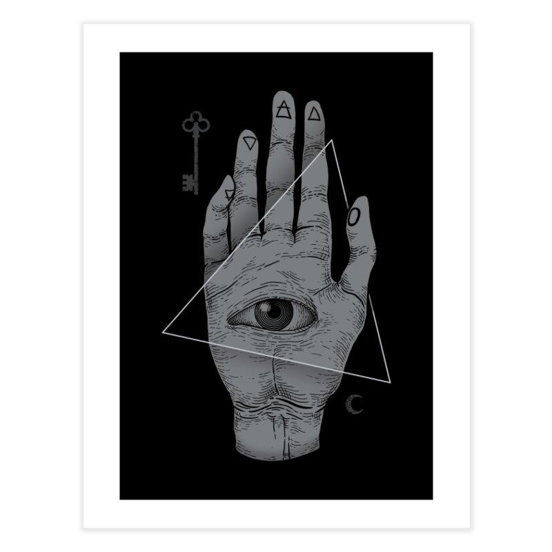 Witch Hand Home Fine Art Print by Deniart's Artist Shop