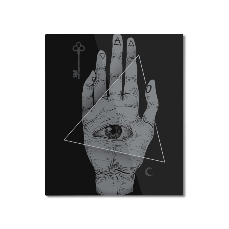 Witch Hand Home Mounted Aluminum Print by Deniart's Artist Shop