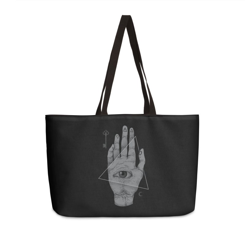 Witch Hand Accessories Weekender Bag Bag by Deniart's Artist Shop