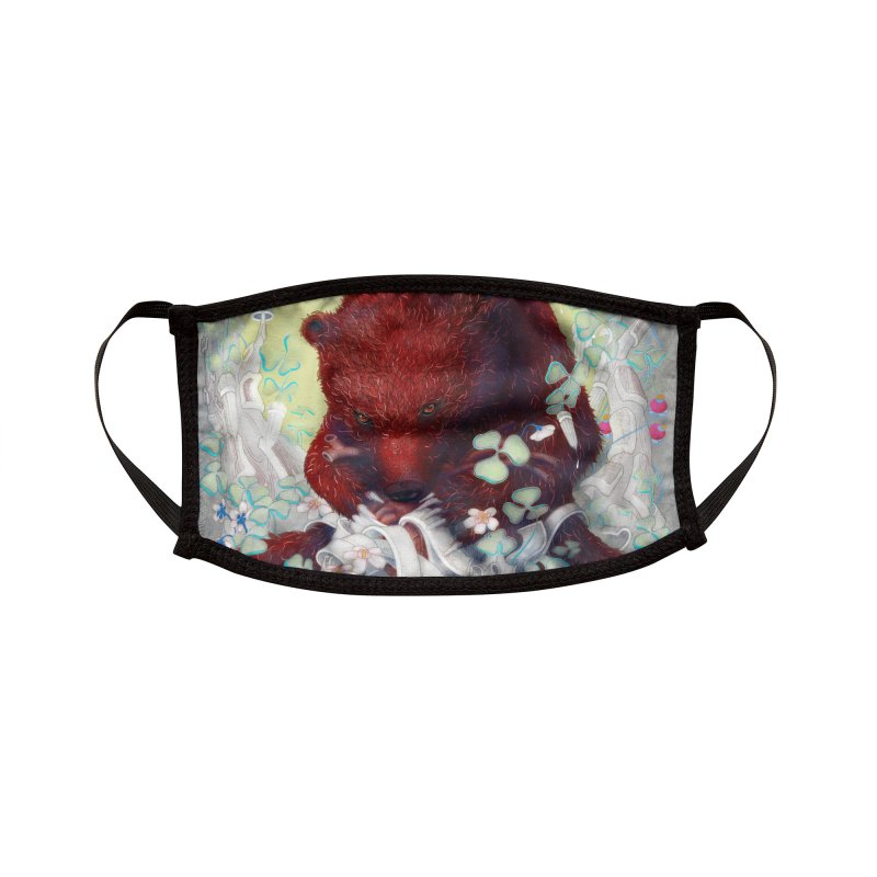 'Ferocity & Comfort' Accessories Face Mask by denisefort's Artist Shop