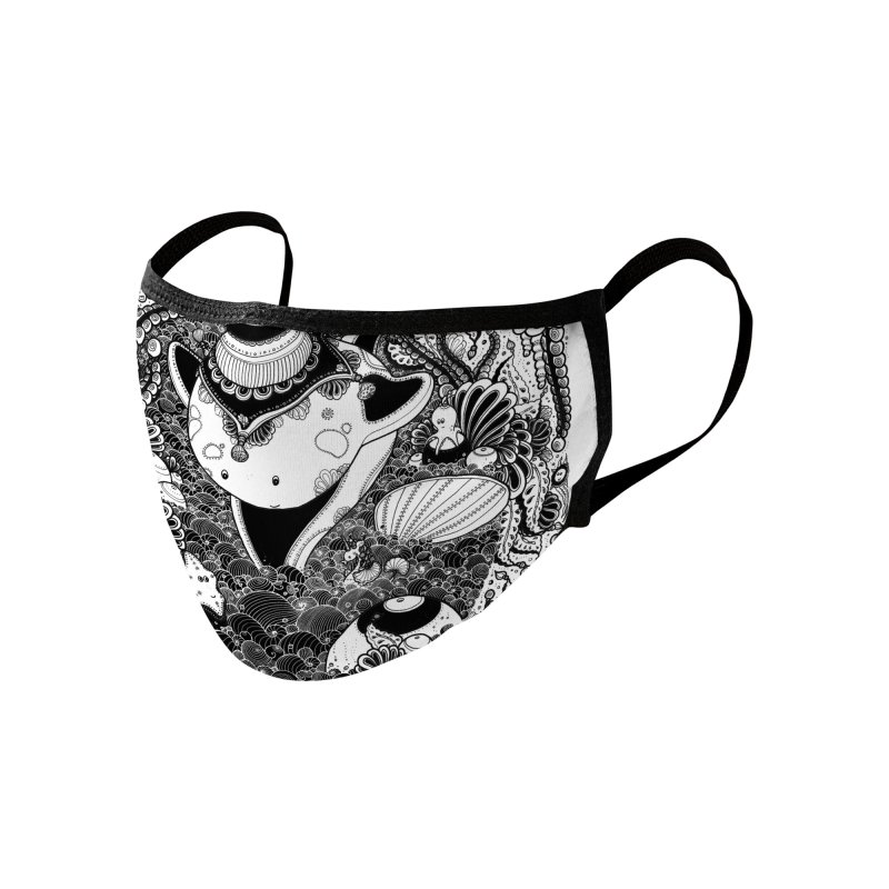 'Starfish & Whale' Accessories Face Mask by denisefort's Artist Shop