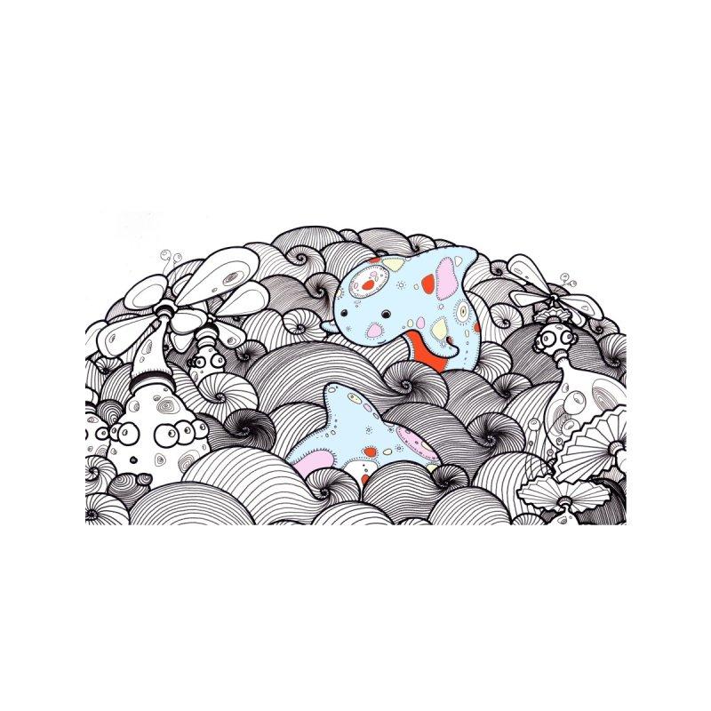 'Mr.Whale & Friend' Accessories Face Mask by denisefort's Artist Shop