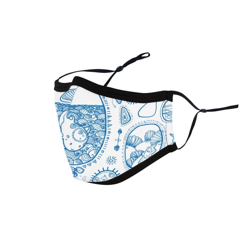 Under Water World Friends Accessories Face Mask by denisefort's Artist Shop