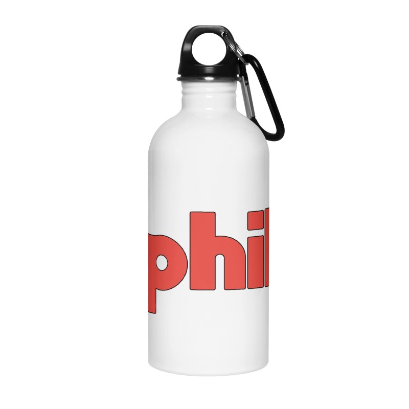 Hashtag Philly Accessories Water Bottle by denisegraphiste's Artist Shop