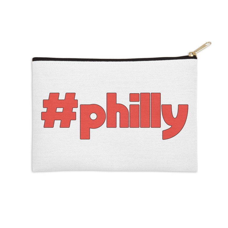 Hashtag Philly Accessories Zip Pouch by denisegraphiste's Artist Shop