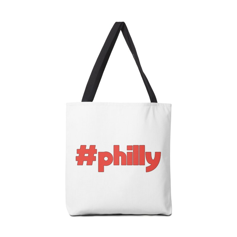 Hashtag Philly Accessories Tote Bag Bag by denisegraphiste's Artist Shop