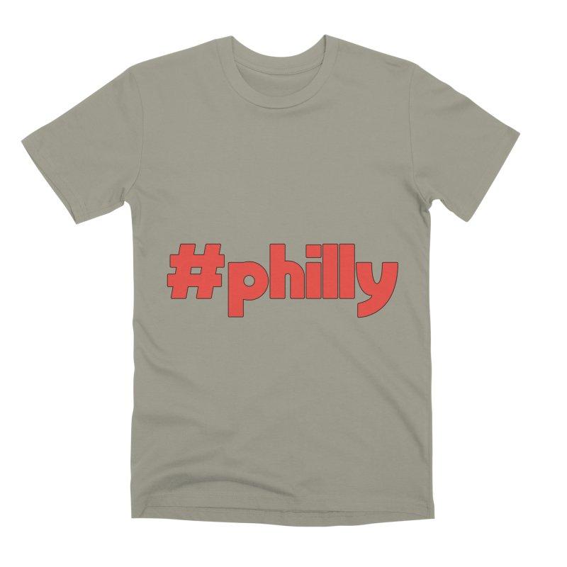 Hashtag Philly Men's Premium T-Shirt by denisegraphiste's Artist Shop