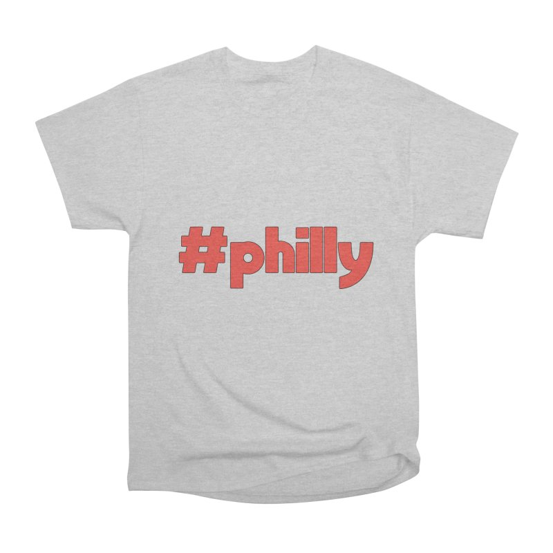 Hashtag Philly Men's Heavyweight T-Shirt by denisegraphiste's Artist Shop