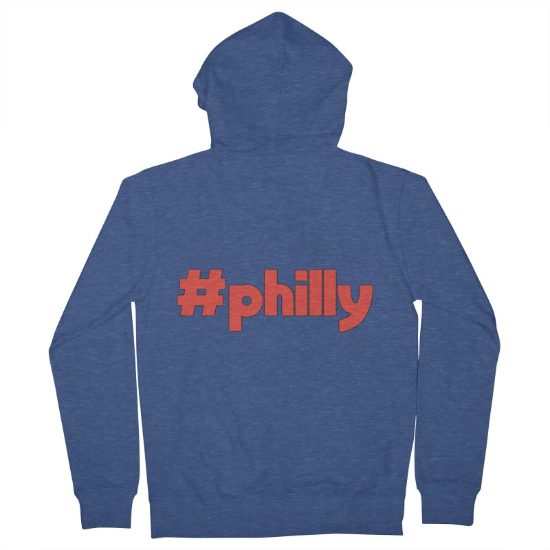 Hashtag Philly Women's French Terry Zip-Up Hoody by denisegraphiste's Artist Shop