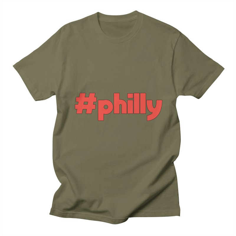 Hashtag Philly Men's T-Shirt by denisegraphiste's Artist Shop
