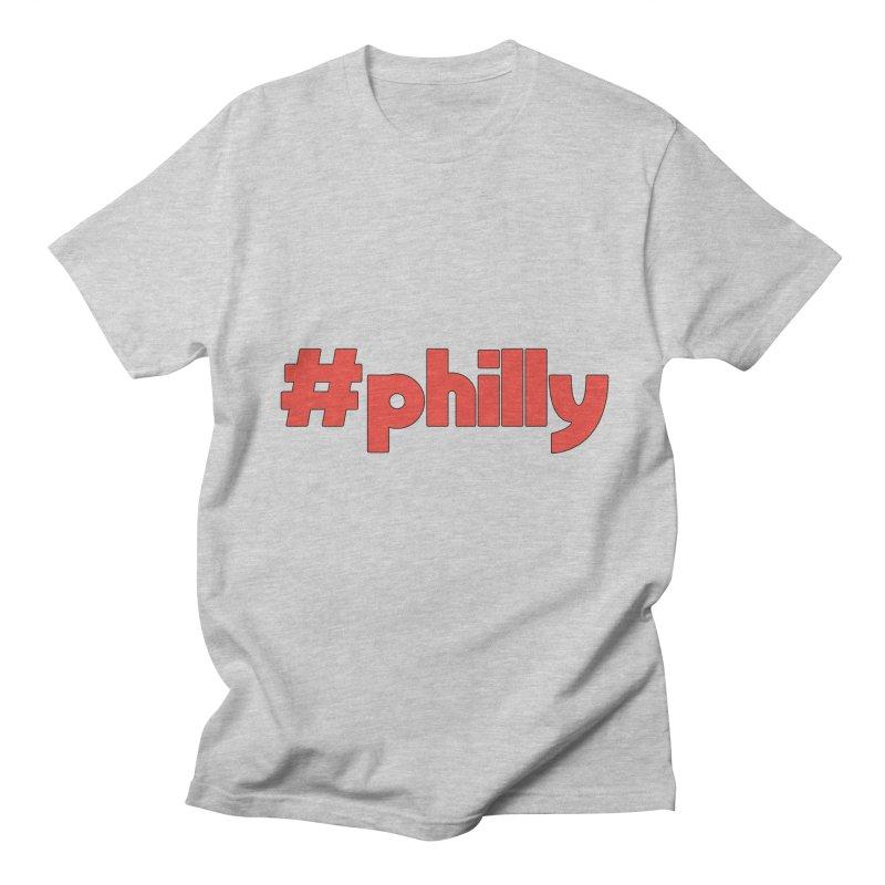 Hashtag Philly Women's Regular Unisex T-Shirt by denisegraphiste's Artist Shop