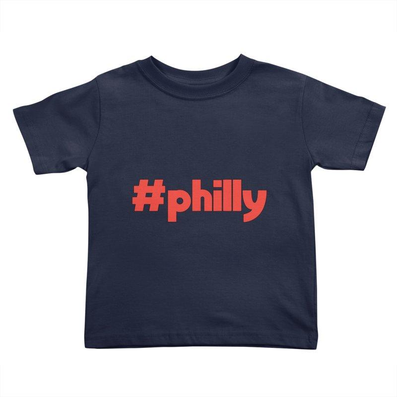 Hashtag Philly Kids Toddler T-Shirt by denisegraphiste's Artist Shop