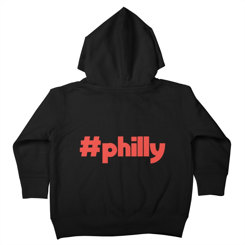 Hashtag Philly Kids Toddler Zip-Up Hoody by denisegraphiste's Artist Shop