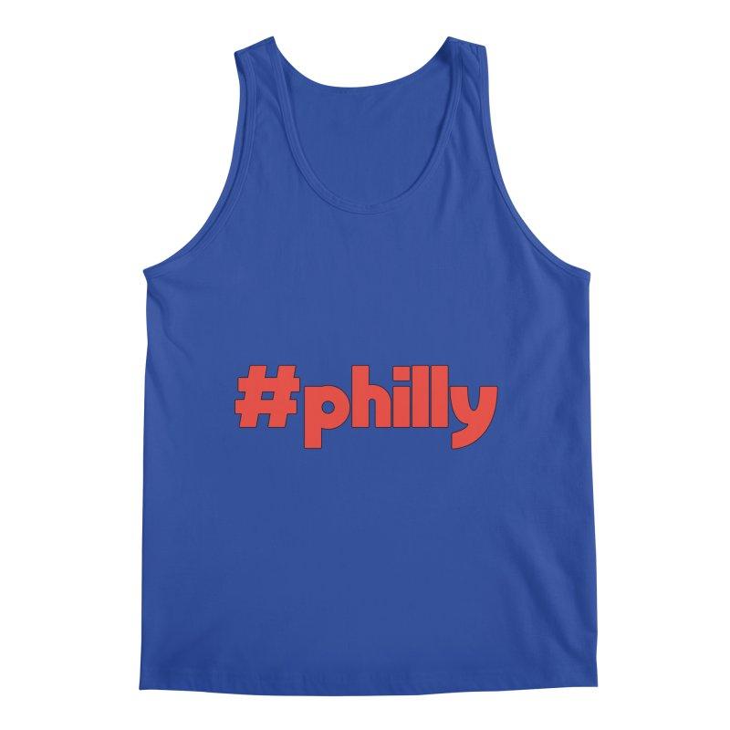 Hashtag Philly Men's Regular Tank by denisegraphiste's Artist Shop