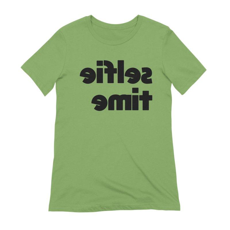 Selfie Time! Women's Extra Soft T-Shirt by denisegraphiste's Artist Shop